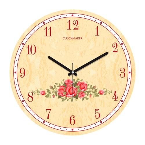 Clockmaker By Cadran 30X30 Mdf Duvar Saati Cmm9