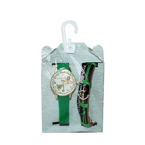 Zizanya Aksesuar Yeşil Kadın Saat
