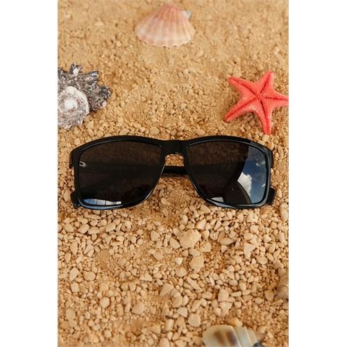 Morvizyon Clariss Marka Siyah Çerçeve Tasarımlı Şık Unisex Güneş Gözlük Modeli