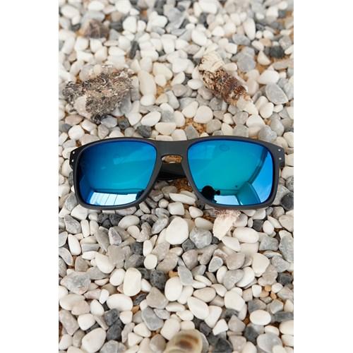 Morvizyon Clariss Marka Koyu Gri Çerçeveli Mavi Renkli Cam Tasarımlı Unisex Güneş Gözlük
