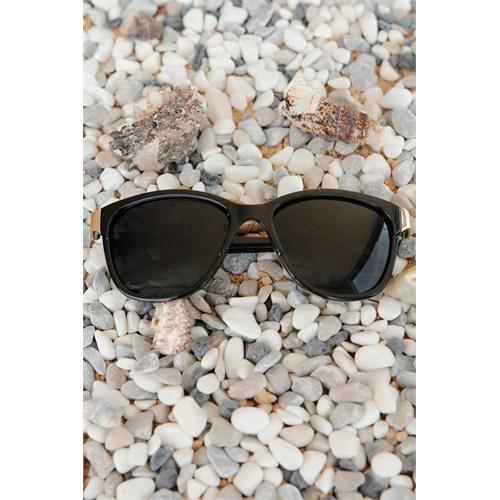 Morvizyon Clariss Marka Yeni Trend Siyah Renk Tasarımlı Unisex Güneş Gözlük Modeli