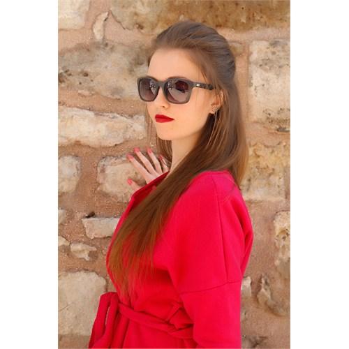 Morvizyon Clariss Marka Füme Rengi Tasarımlı Bayan Güneş Gözlük Modeli