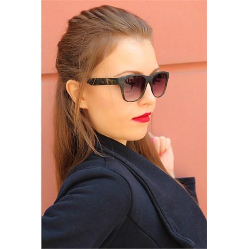 Morvizyon Clariss Marka Siyah Kare Çerçeve Tasarımlı Bayan Gözlük