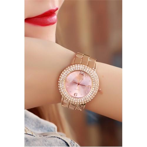 Morvizyon Clariss Marka Bronz Tasarımlı Bayan Saat