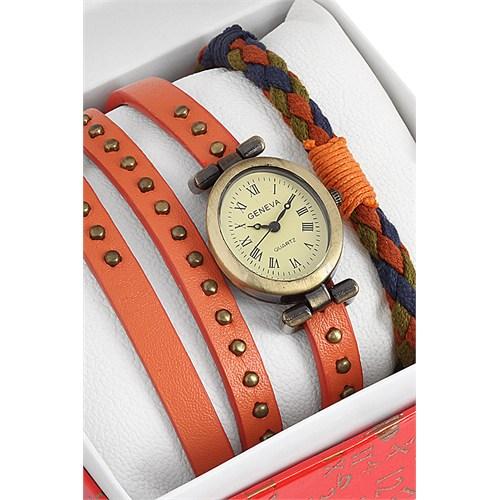 Geneva Saat Ve Bileklik Seti Kol Saati 463396