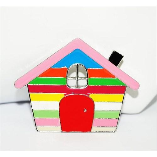 Cadının Dükkanı Renkli Ev Rozet