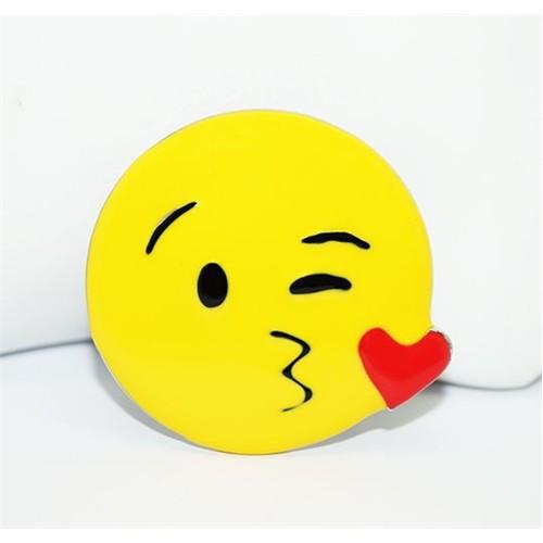 Cadının Dükkanı Öpücük Emoji Rozet
