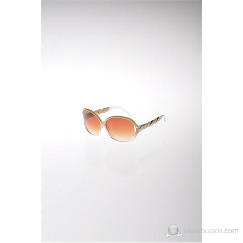 Y-London YL12 102 KREM Kadın Güneş Gözlüğü