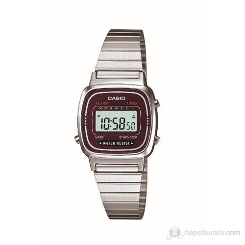 Casio LA670WA-4DF Kadın Kol Saati