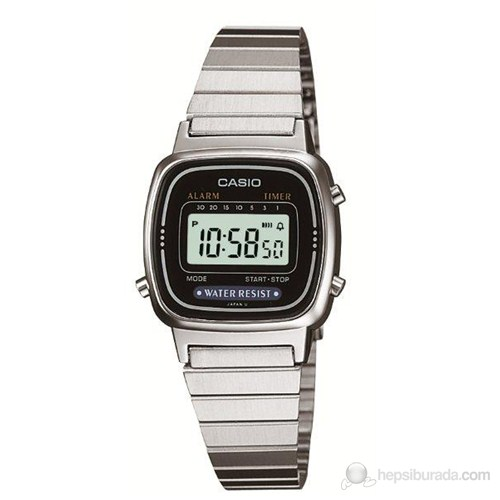 Casio LA670WD-1DF Kadın Kol Saati