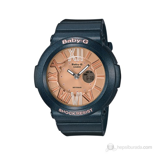 Casio BGA-161-3BDR Kadın Kol Saati