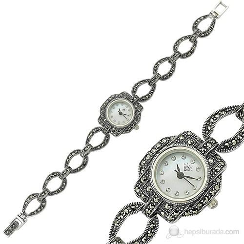 Gumush BRC08051034 Kadın Kol Saati (Kolye Hediyeli)