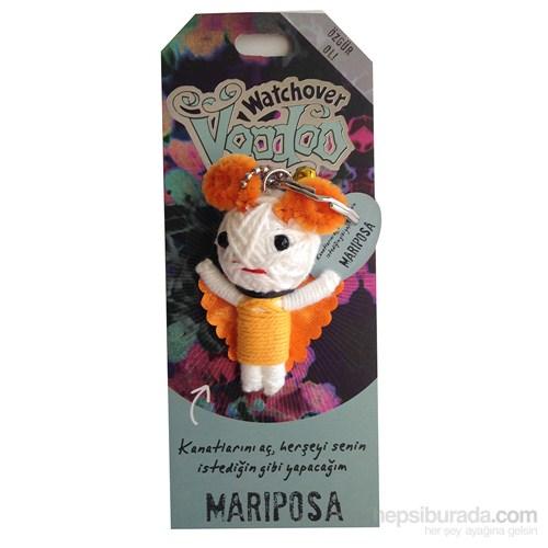 Voodoo Mariposa Anahtarlık