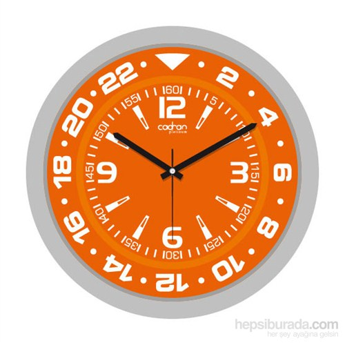 Cadran 200-3 Platinum Duvar Saati Orange Sport