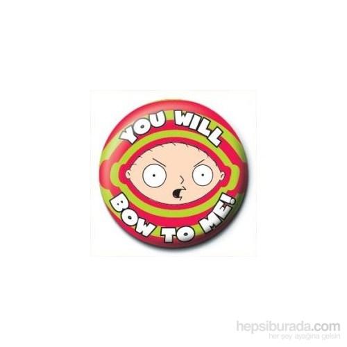 Rozet - Family guy - Stewie - Bow To Me
