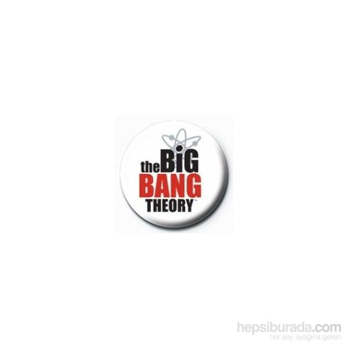 Rozet - The Big Bang Theory Logo