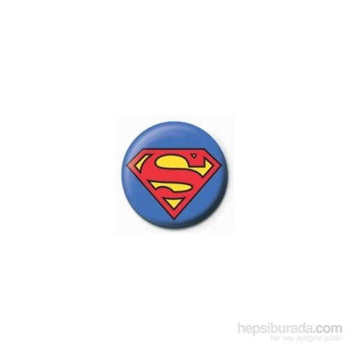 Rozet - Superman Logo