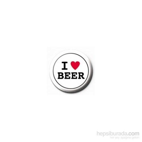 Rozet - I Love Beer