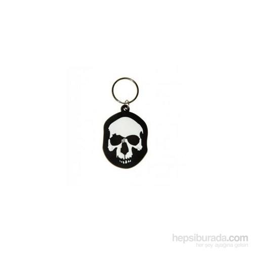 Skull Eroded Anahtarlık
