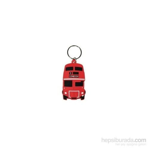 red bus soft 3d Anahtarlık