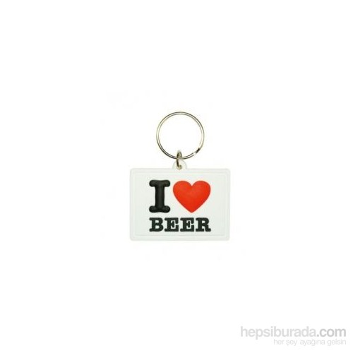 I Love Beer Soft 3D Anahtarlık