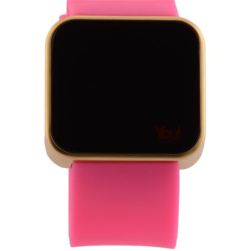 You Watch Matt Rose Pink Unisex Kol Saati