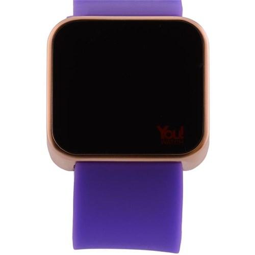 You Watch Matt Rose Purple Unisex Kol Saati