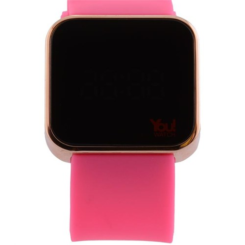 You Watch Shiny Rose Pink Unisex Kol Saati