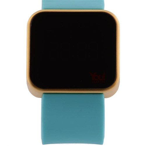 You Watch Shiny Rose Turquoise Unisex Kol Saati
