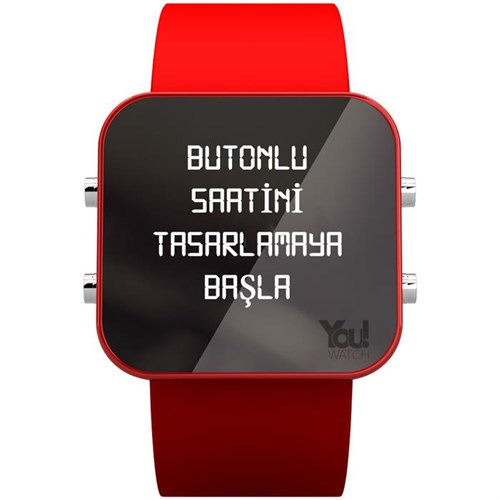 You Watch Gold Buttons Tasarla