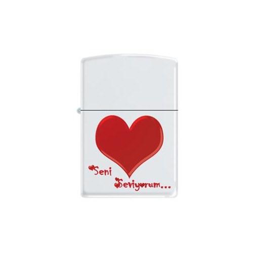 Zippo Ci007301 Design 45-Seni Seviyorum Çakmak