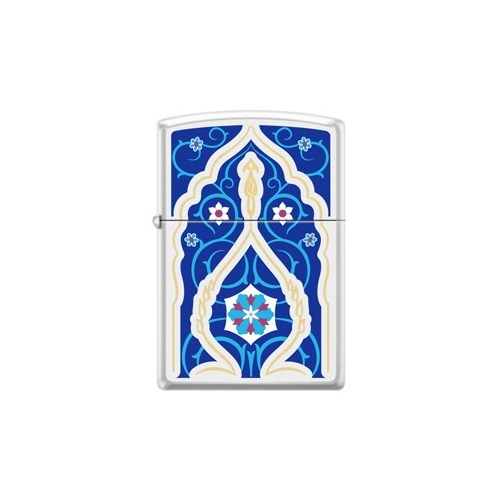 Zippo Ci017458 Blue Panel Çakmak