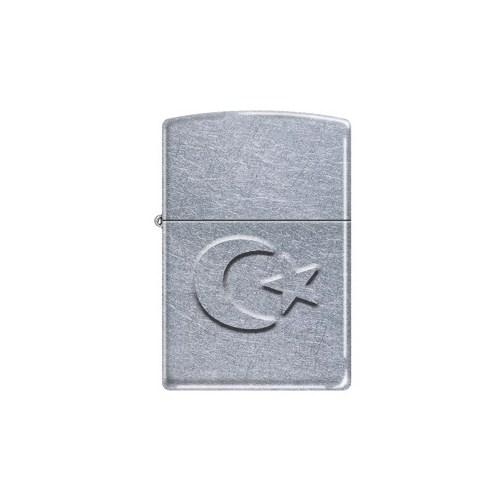 Zippo Turkish Flag Stamp Çakmak