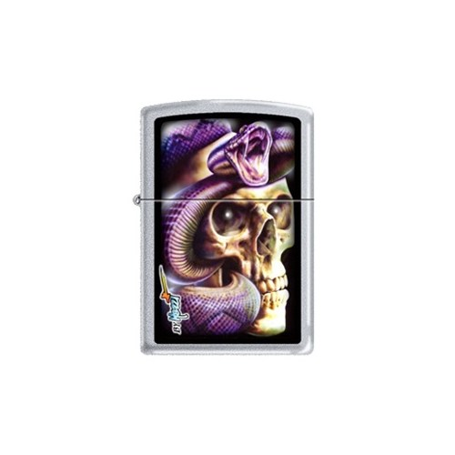 Zippo Ci012424 Mazzi - Skull Snake Çakmak