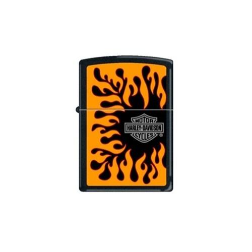 Zippo Ci011572 Harley Davidson Flames Çakmak