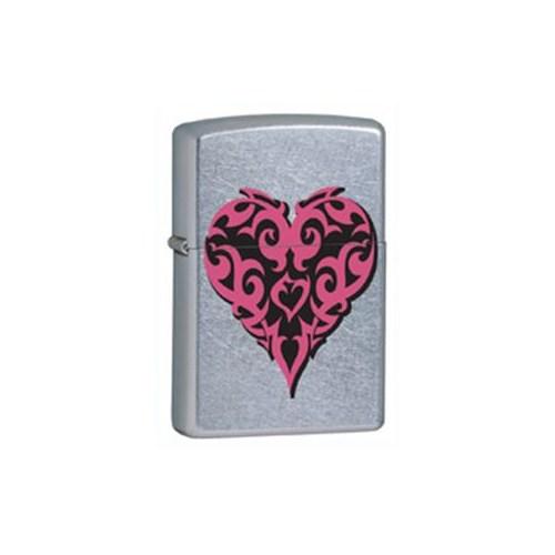 Zippo 207 Tattoo Heart Çakmak