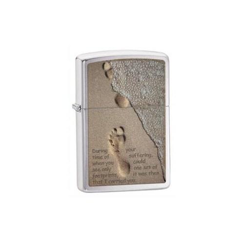 Zippo 200 Footprint in Sand Çakmak