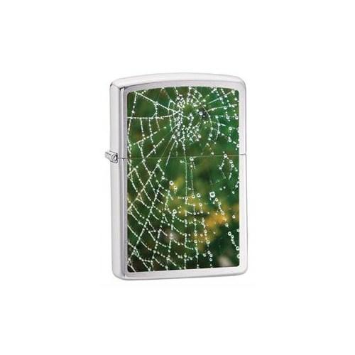 Zippo 200 Spider Web Rain Drops Çakmak