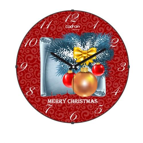 Cadran Luxury Happy Party Bombeli Cam Duvar Saati-5