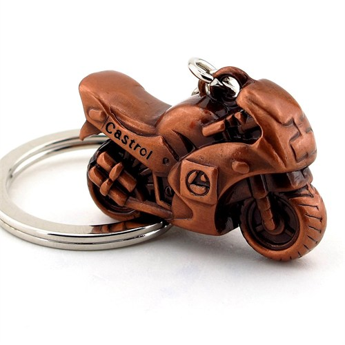 Solfera Motorsiklet Yarış Motoru Metal Anahtarlık Kc534