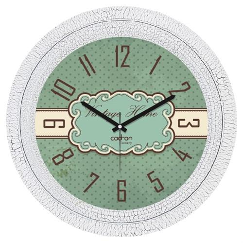 Cadran Luxury Dekoratif Çatlak Desen Duvar Saati-1