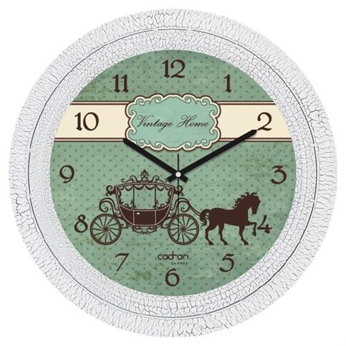 Cadran Luxury Dekoratif Çatlak Desen Duvar Saati-2