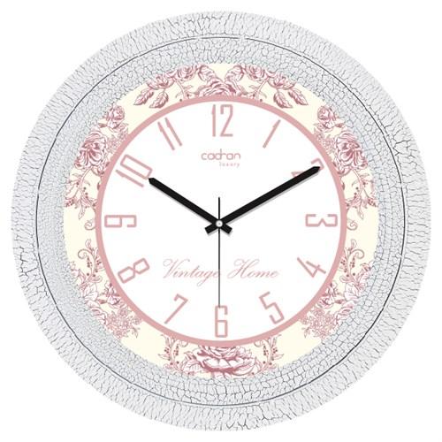 Cadran Luxury Dekoratif Çatlak Desen Duvar Saati-5