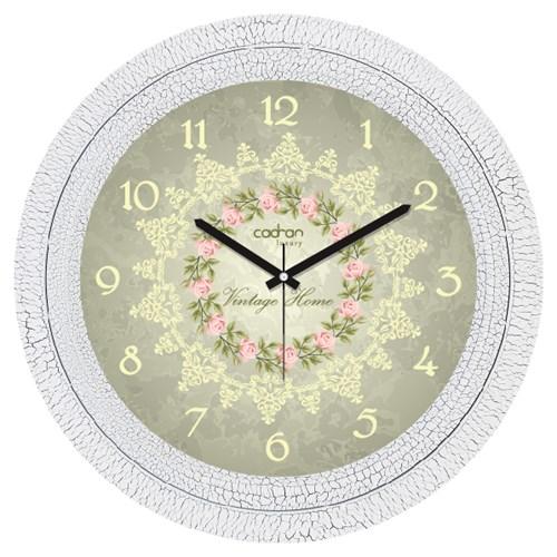 Cadran Luxury Dekoratif Çatlak Desen Duvar Saati-10