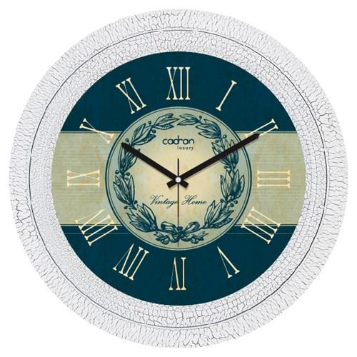 Cadran Luxury Dekoratif Çatlak Desen Duvar Saati-15