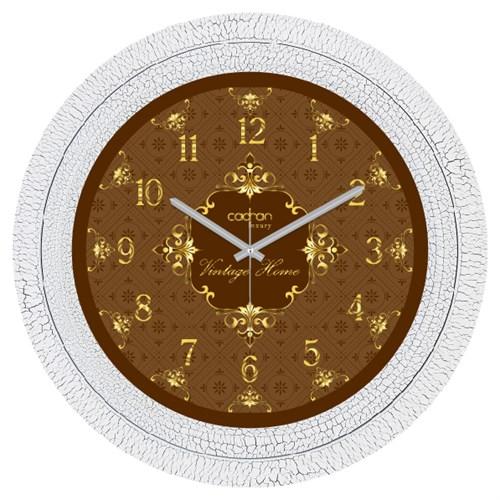 Cadran Luxury Dekoratif Çatlak Desen Duvar Saati-34