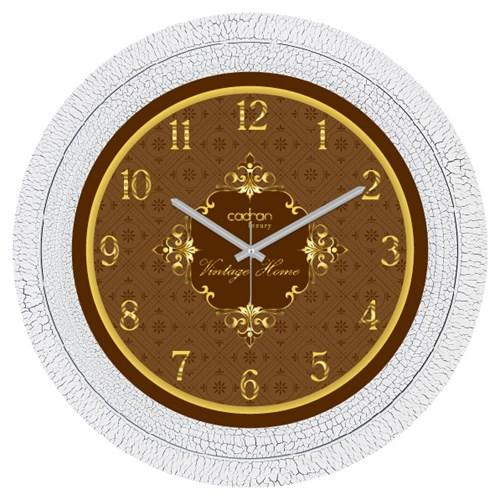 Cadran Luxury Dekoratif Çatlak Desen Duvar Saati-35