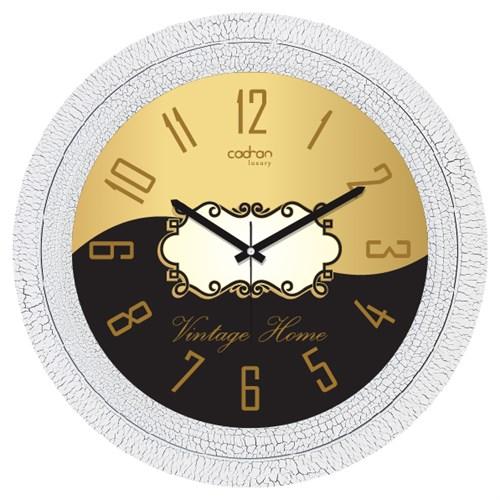 Cadran Luxury Dekoratif Çatlak Desen Duvar Saati-50