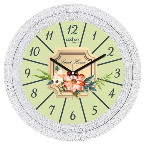 Cadran Luxury Dekoratif Çatlak Desen Duvar Saati-65