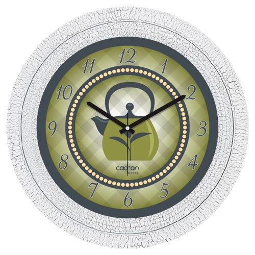 Cadran Luxury Dekoratif Çatlak Desen Duvar Saati-75